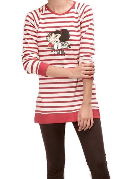 MAFALDA Pijama con Legging Mujer Rayas (S)