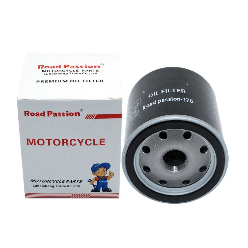 Road Passion Filtro Olio per XL883N IRON 54 CI 2009-2014 XL883L SUPERLOW 54 CI 2011-2014 XL883R SPORTSTER ROADSTER 54 CI 2012