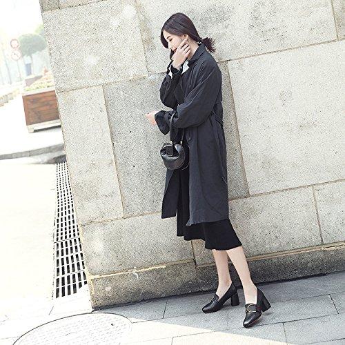 Noir Escarpins amp;H® Pour H Femme 7wn5xz58qI