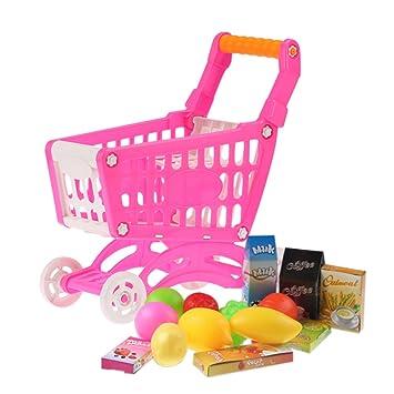 Goolsky Coolplay Carrito de Compras Pequeño de Supermercado Carretón Juguetes para Niños Almacenamiento: Amazon.es: Juguetes y juegos