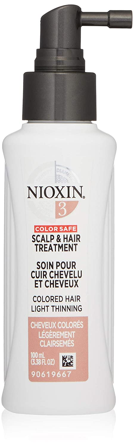 Nioxin Scalp and Hair Leave,In Treatment System 3, 3.4 Fl Oz: Nioxin: Premium Beauty