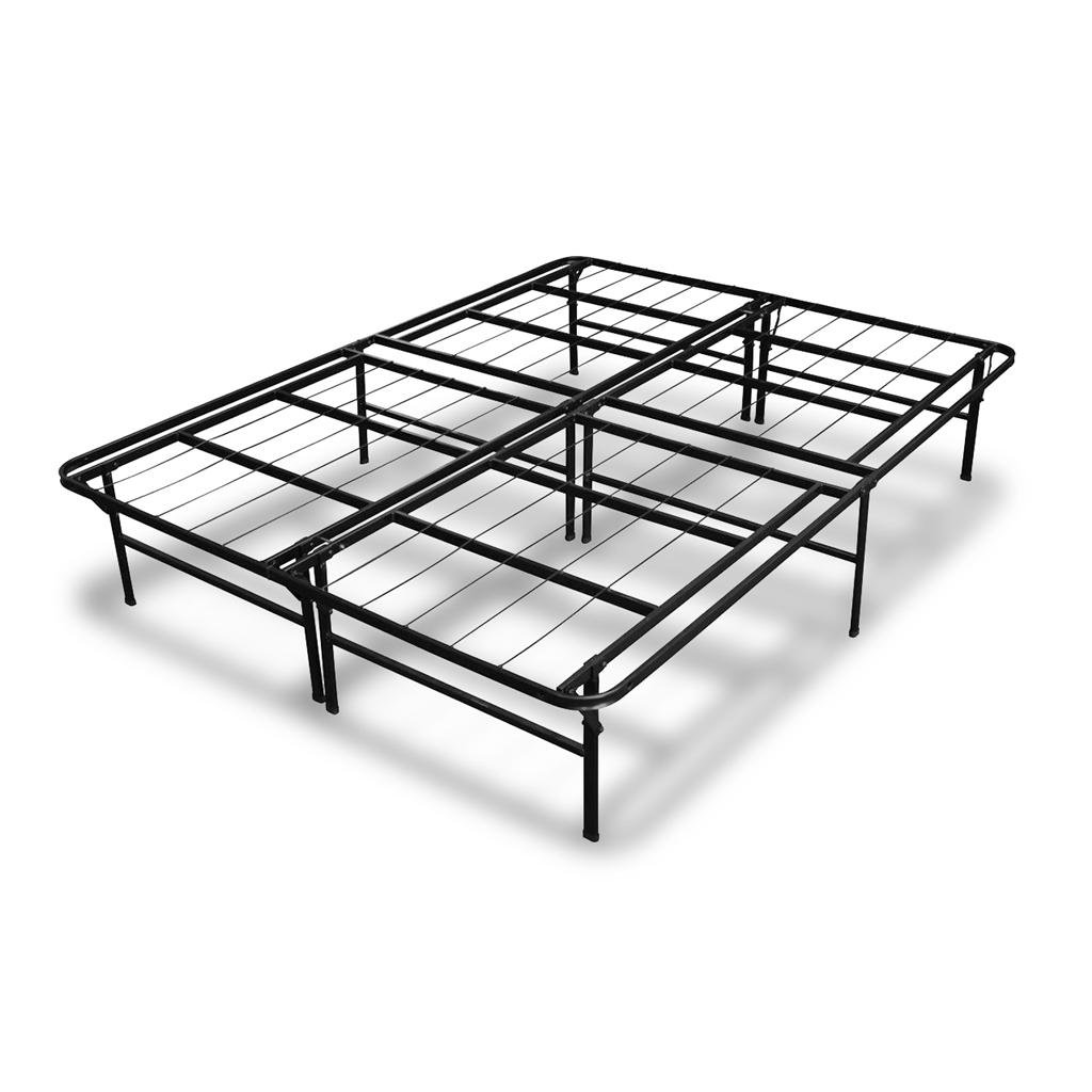 Best Price Mattress 14 Inch Premium Steel Bed Frame/Platform Bed,Twin BPM-NSB-14T-FE