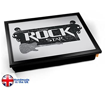 Amazon.com: KICO estrella de rock música cojín bandeja de ...