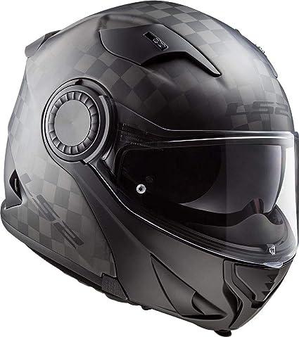 Amazon.es: LS2 Casco de moto FF313 VORTEX MATT CARBON, negro, XL
