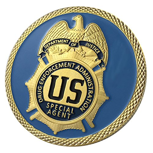 Drug Enforcement Administration / DEA / Department Of Justice GP Challenge Coin 1109#