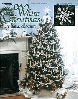 Book White Christmas in Thread Crochet