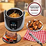 NUWAVE DUET Pressure Air Fryer, Combo Cook