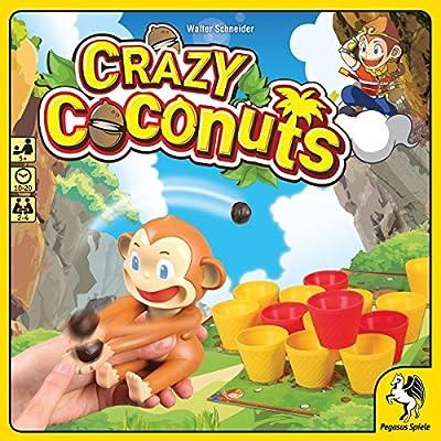 Pegasus Spiele 52153G - Crazy Cocos, Juegos de Mesa: Amazon.es: Juguetes y juegos