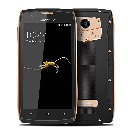 17 opinioni per Blackview Smartphone Tri-proof 4 Ram 64G Rom 5 Pollici 1080*1920 Octa-Core