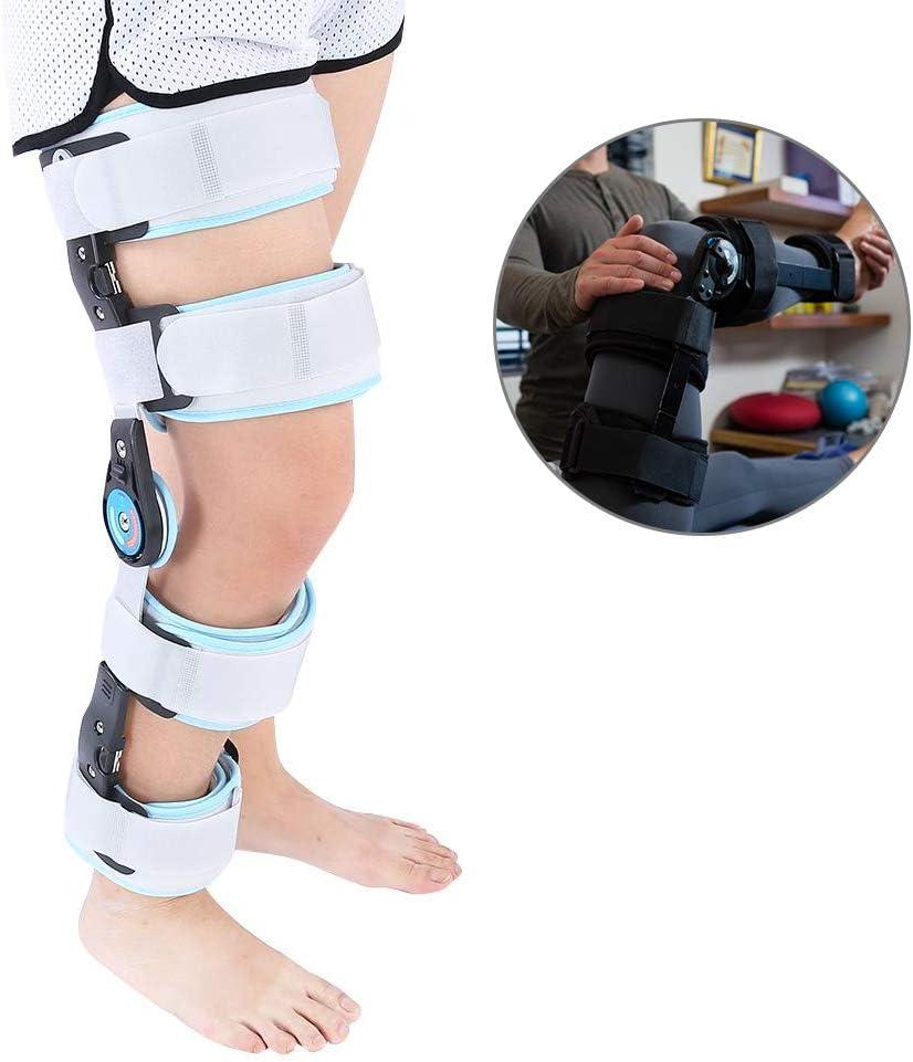 Rodillera ROM Ideal para ACL/ligamento/lesiones deportivas, osteoartritis leve, Desgarros del Menisco, Lesiones Ligamentosas, Rodillera Rotuliana para la Estabilización de la Recuperación