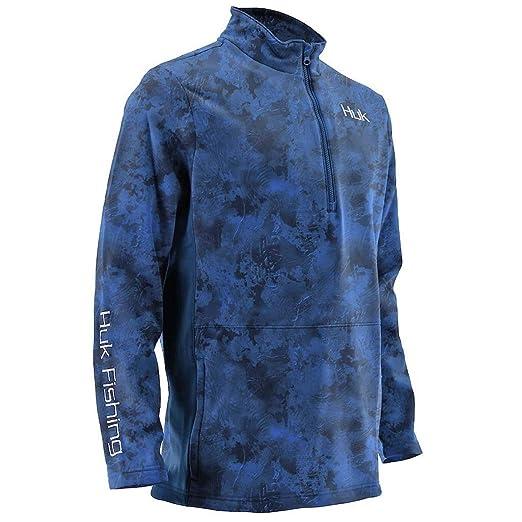 Huk Trophy Kryptek 1//4 Zip Long Sleeve Shirt Sizes S-XXXL