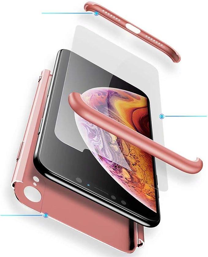 82 opinioni per Custodia Huawei P20 Lite WYRHS 360 Gradi Protezione Case 3 in 1 Con [Proteggi