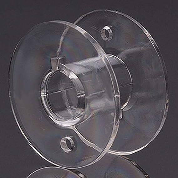 Menge:15 Spulen N/ähmaschinenspule Kunststoff 20x11mm 6,3mm Loch Unterfadenspule