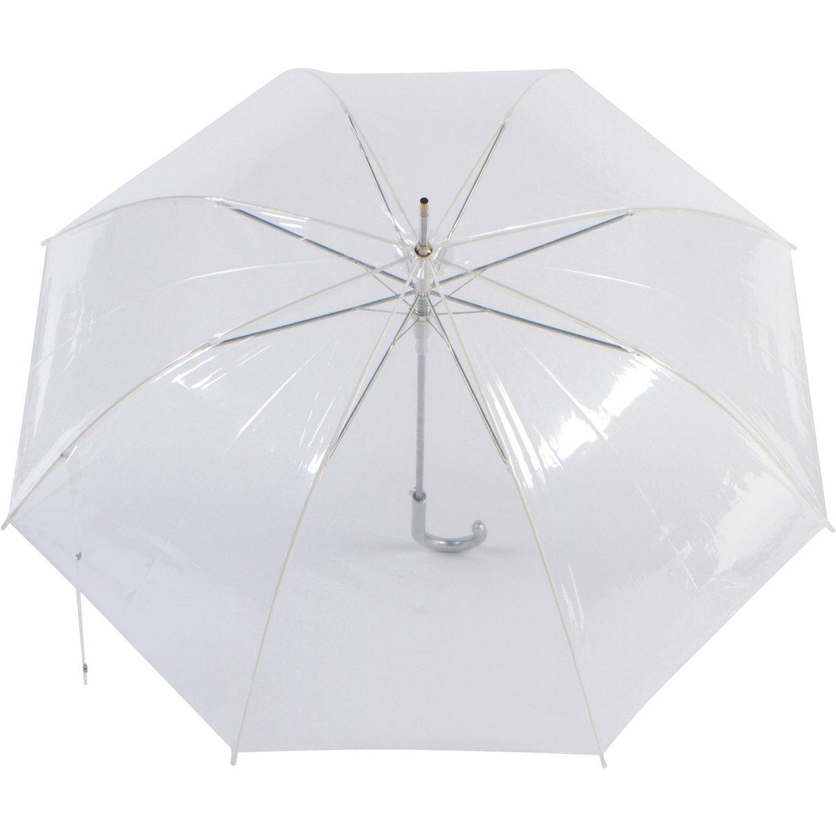 Cloak Umbrellas Auto Open Clear Umbrellas, 46'' ARC by Cloak Umbrellas (Image #3)