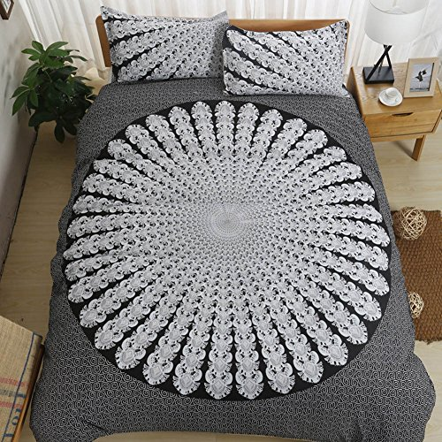 - Boho Bedding Sets Polyester - Sport Do Brushed Reactive Printing 14 Beautiful Patterns NO FILLER King