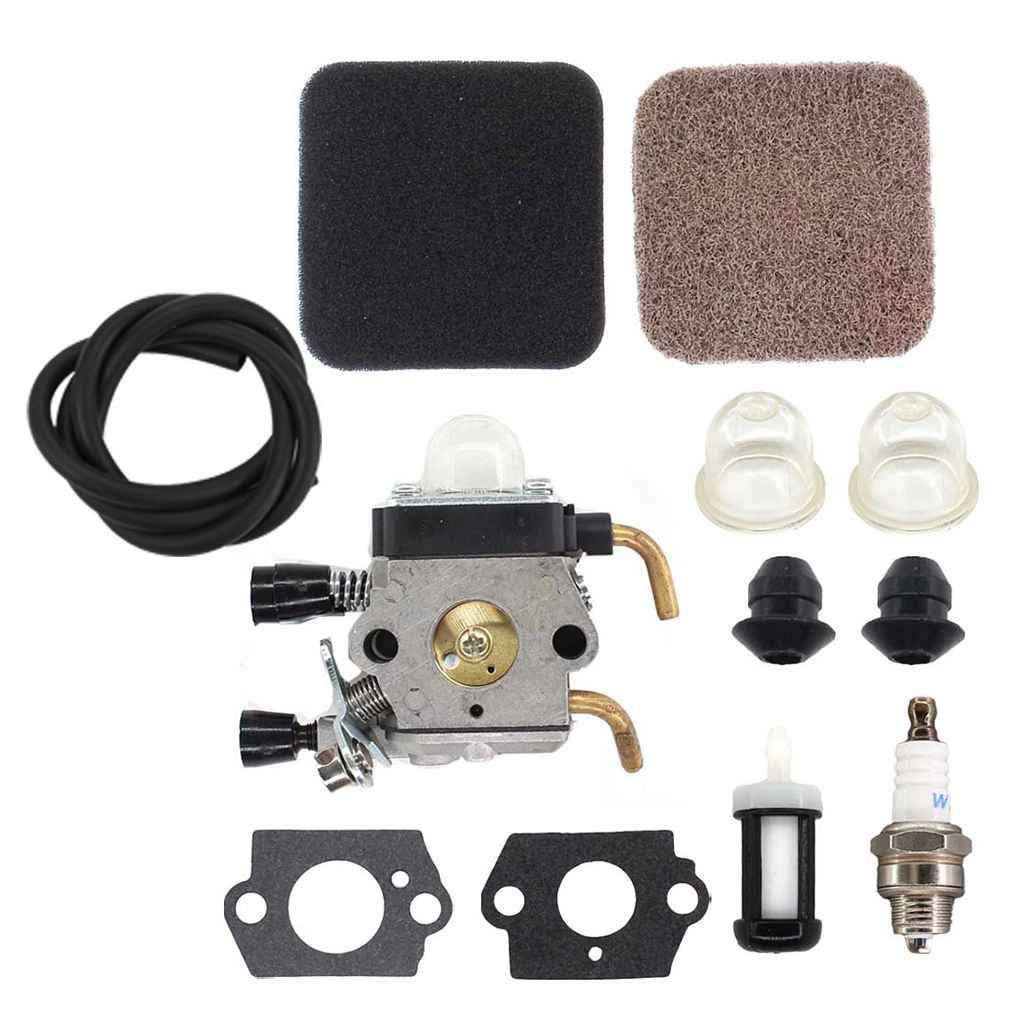 Carburateur Kit pour le filtre FS80R FS85R FS85T FS85RX FS74 FS76 HT75 C1Q-S157 Air Set Fuel Line Republe