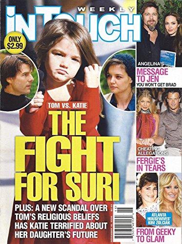 Tom Cruise Vs. Katie Holmes: The Fight For Suri l Angelina Jolie & Brad Pitt l Fergie & Josh Duhamel l Kim Zolciak - November 16, 2009 In Touch