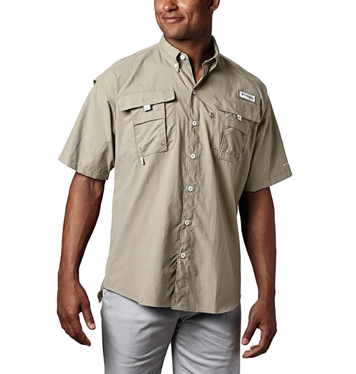 columbia mens pfg bahama button down shirt