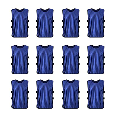 41efe91f2 TopTie Training Vests Soccer Jerseys Set of 12