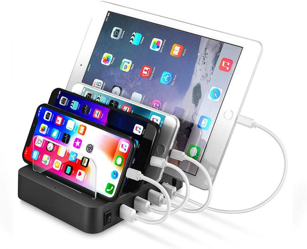 Charging Station for Multiple Devices Bencisy 4 USB Ports Charge Dock for Cellphone,Smart Phone,Tablets,Other Elecetroics Need USB Charging