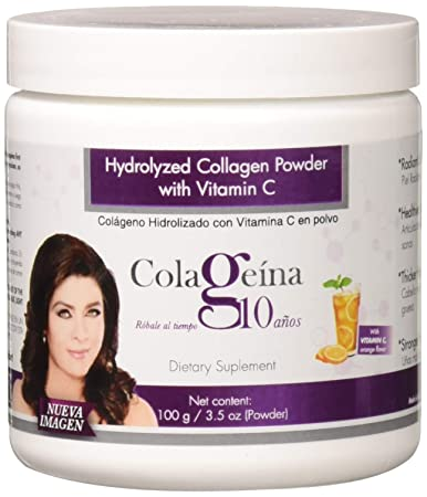 Colageina 10 Hydrolyzed Collagen Powder, 3.52 Ounce