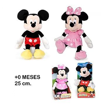 Mickey Mouse Clubhouse clásico - Muñeco de peluche original, 25 cm (modelos surtidos:
