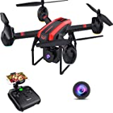 SANROCK 1080P HD Camera Drones for Kids and Adults, X105W RC Quadcopter for Beginners, Wifi Live Video, App Control, Altitude