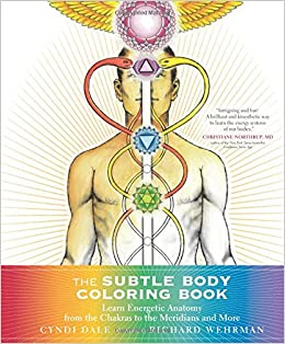 the subtle body coloring book learn energetic anatomy from the chakras to the meridians and more cyndi dale richard wehrman 9781622036073 amazoncom - Human Body Coloring Book