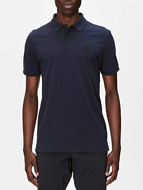 PEAK PERFORMANCE Urban Pique Polo Salute Blue Salute Blue ...