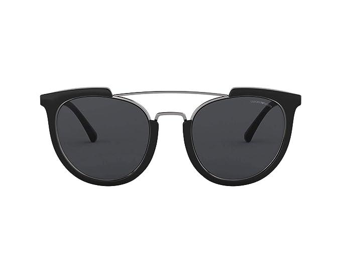Emporio Armani 0EA4122 Gafas de sol, Black, 53 para Mujer ...