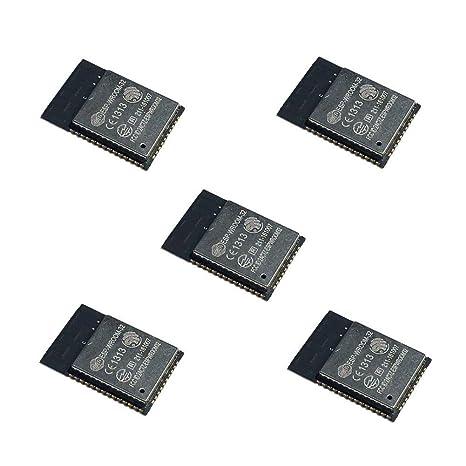 ESP32 ESP-WROOM-32 ESP-32 ESP-32S Bluetooth and WiFi Dual Core CPU with Low  Power Consumption Development Board (5PCS)