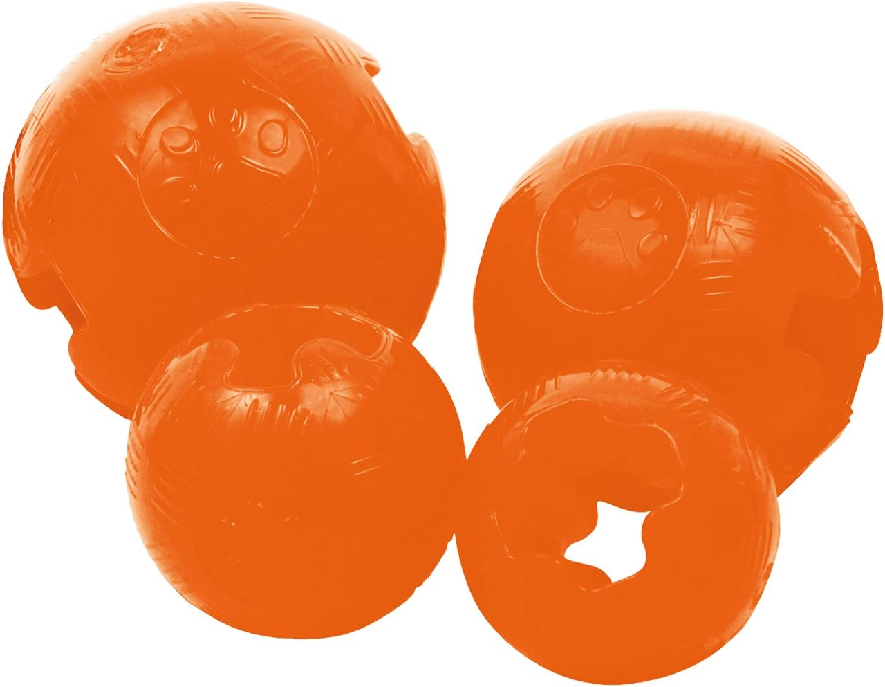 Gloria JU00510 Pelota TPR Mini Diamentro 5.7 cm, Naranja: Amazon ...