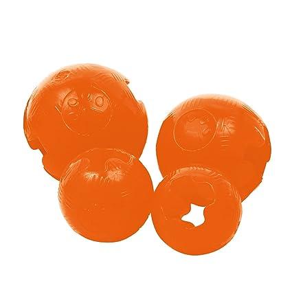 Gloria JU00513 Pelota TPR Grande Diametro 9.52 cm, Naranja: Amazon ...