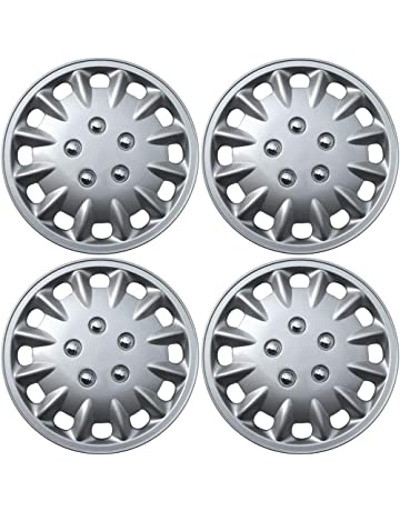 15 inch Hubcaps Best for 2005-2008 Toyota Corolla - (Set of 4)