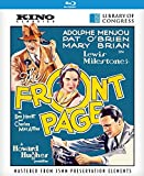 1931 The Front Page on Blu-ray & DVD Aug 11