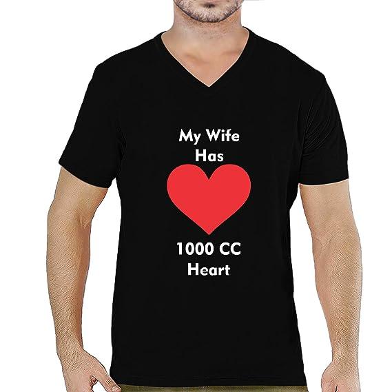 I Love Heart My Wife V-Neck T-Shirt
