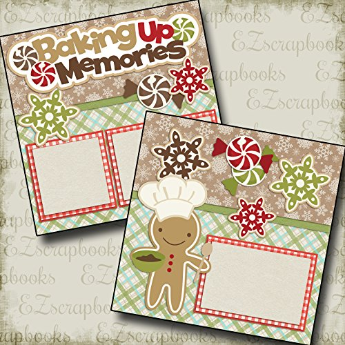 2 12x12 Premade Scrapbook Pages - 8