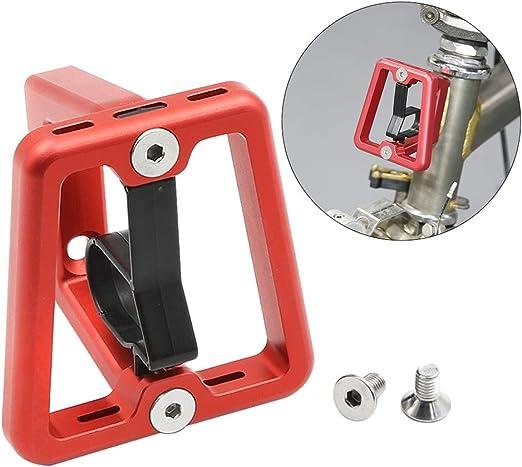 FLOX - Bloque de Soporte Delantero CNC para Bicicleta Plegable ...