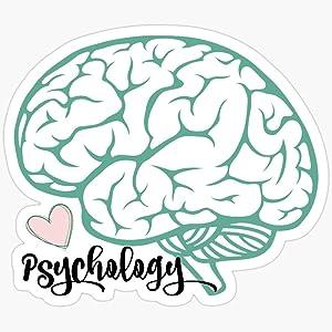 BeliNZStore Psychology Brain Sticker Stickers (3 Pcs/Pack)