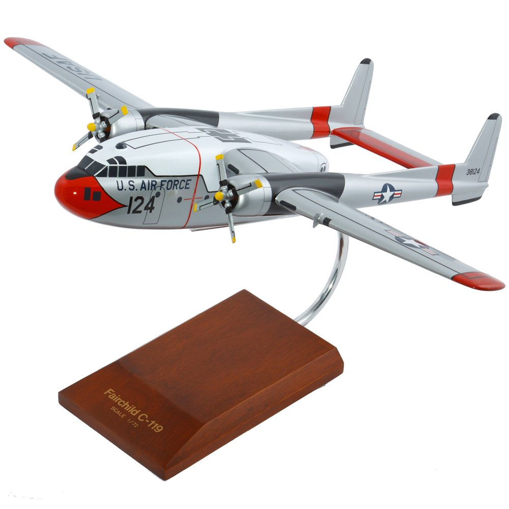 Mastercraft Collection Fairchild C-119G Flying Boxcar Model Scale:1/72