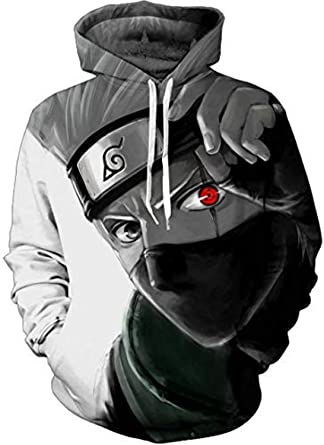 JANDZ] Naruto Hoodie, 3D Print Double Layer Hoodie, Different Character Option (1072