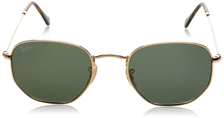 Amazon.com  Ray-Ban Unisex RB3548N Hexagonal Sunglasses  Clothing 0c737f318b