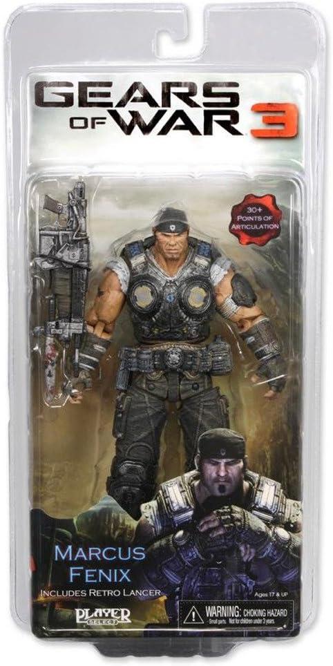 Figura Gears Of War 3 Marcus Fenix, 18 cm: Amazon.es: Juguetes y ...