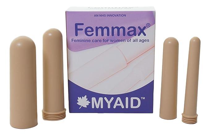 Dilatadores vaginales Femmax (Beige) - Juego de 4 con DVD de instrucciones: Amazon.es: Salud y cuidado personal