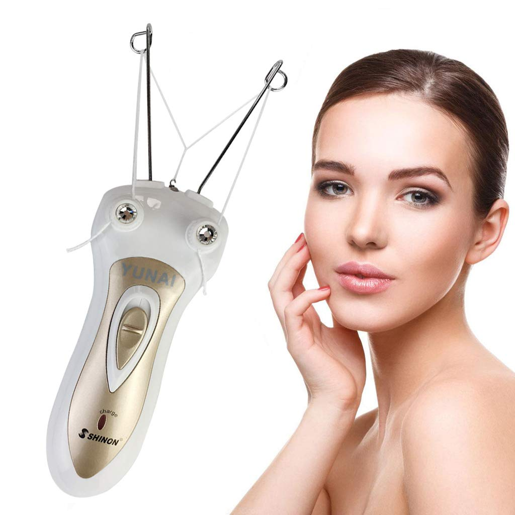Electric Body Facial Hair Remover Pull Surface Device Defeatherer Cotton Thread Epilator Rechargeable Epilator Ladies Shaver Wondermall