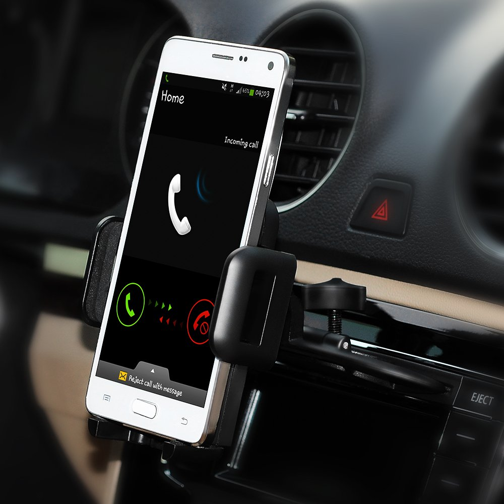 iphone car mount galleon mpow car phone mount cd slot car phone holder 11699
