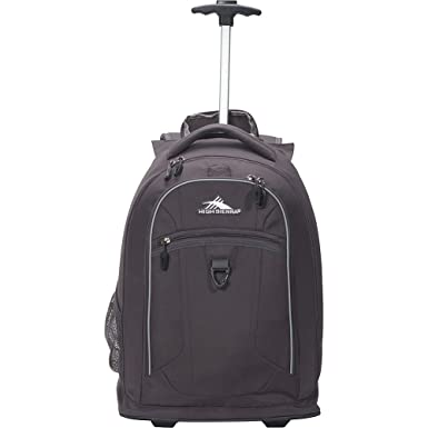 4ed5ef205b0 High Sierra Welter Wheeled Backpack - Rolling Carry-On Luggage - (Mercury)