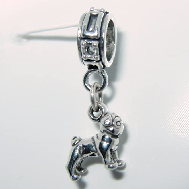 Amazon.com: Pug Smaller Sterling Silver Dangle Dog Charms: Pandora Charms  Dogs: Jewelry