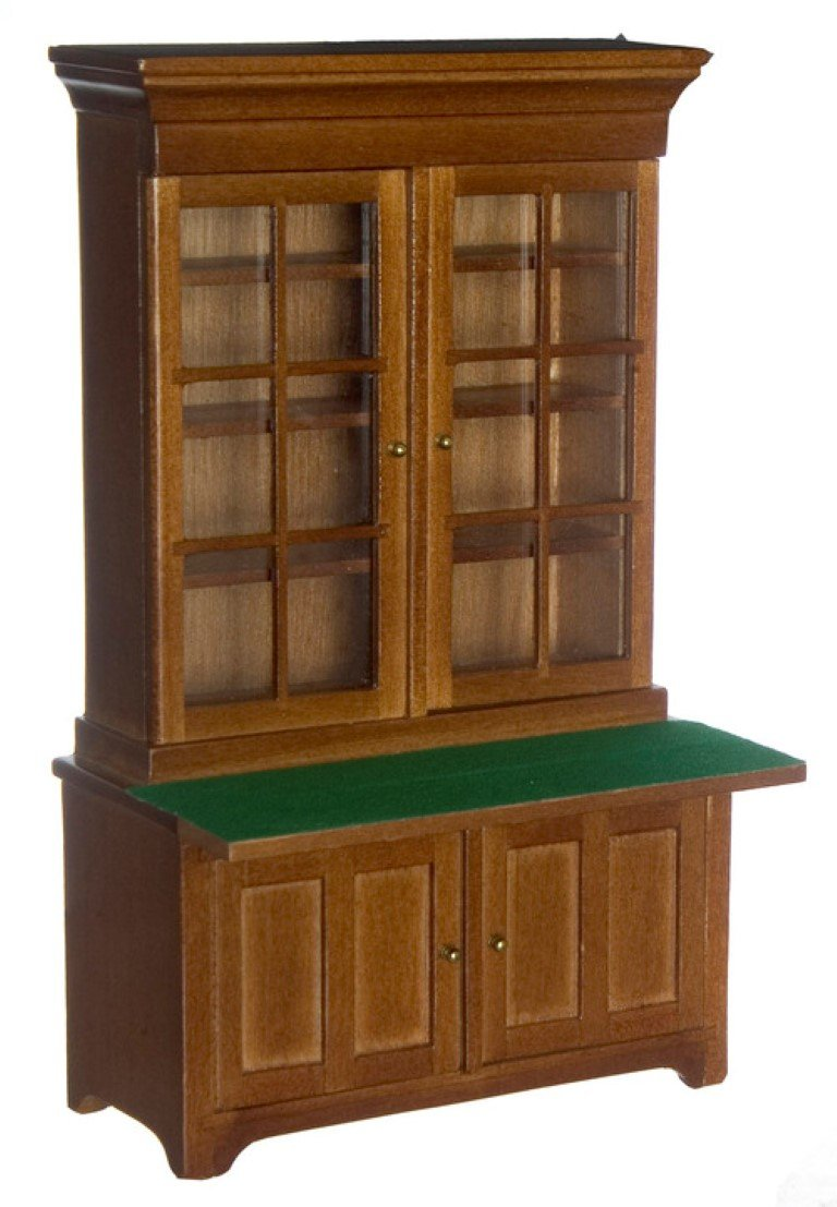 Amazon.es: Dollhouse Miniature The Lincoln Secretaria: Juguetes y ...
