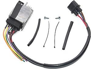 GELUOXI Radiator Cooling Fan Control Unit Module Fit For Au-di A6 Quattro 4F0959501G 4F0959501A C E